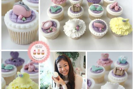 In this class you will learn to decorate cupcakes with sugar craft detail including dresses, hand bags, purses and shoes, perfect for any girly girl - Obby