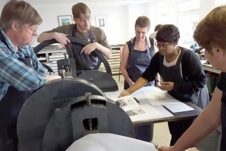 Photo etching One-Day course in Woolwich