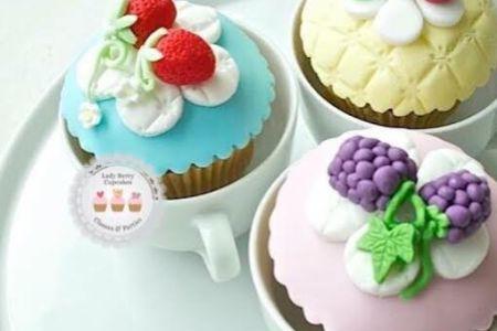 """Cath Kidston"" Inspired cupcake Class - Obby"