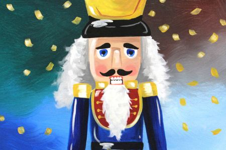 Christmas Painting: Nutcracker
