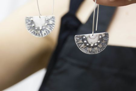 One Day Silver Earring Workshop