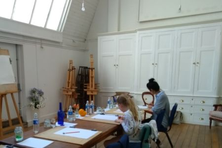 Watercolour Painting Studio Classes