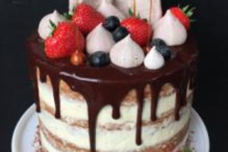 Learn how to bake a delicious and beautiful drip cake