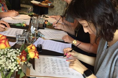 Beginner's Modern Calligraphy Workshop at Wilton's