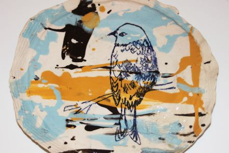 Printing on Clay with Studio Lloyd - come along to this Hammersmith studio and learn a variety of techniques for Printing on Clay.