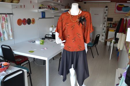 Step into the role of fashion designer in the 'Design Your Own Complete Outfit – Freestyle' class at Luchi & Ota in Edgware, NW London