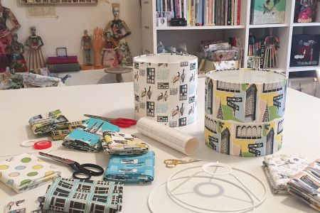 Hand Make Your Own Drum Lampshade