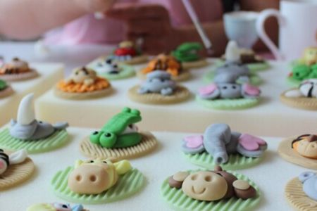 Jungle Animal Cupcake Class - Obby