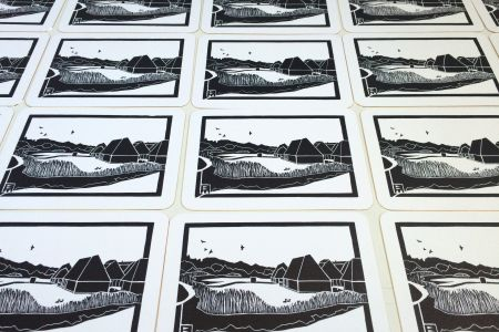 Linocut One-Day Course in Woolwich - Obby
