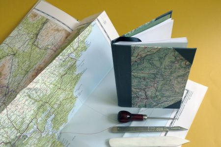 Bookbinding with Maps!