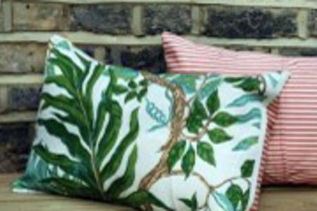 Book this cushion cover making course at The Old School Club in Battersea and learn the art of cushion making