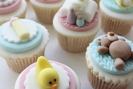 Baby shower Cupcake Class - Obby