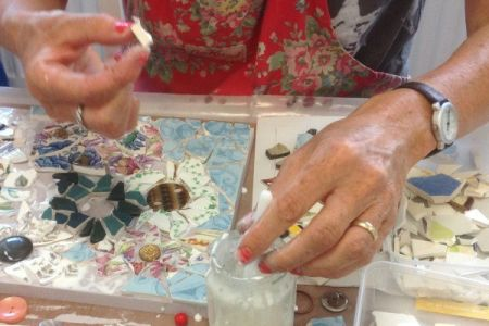 One Day Mosaic Skills Workshop