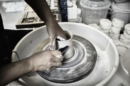 Beginner Pottery Throwing Course