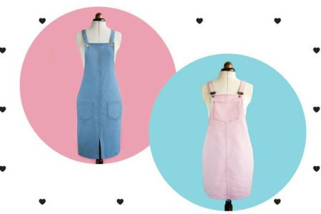 Sew a Dungaree Dress with Charlotte Newland - winner of the Great British Sewing Bee