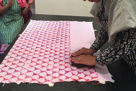 Textile Indian Blockprinting Workshop