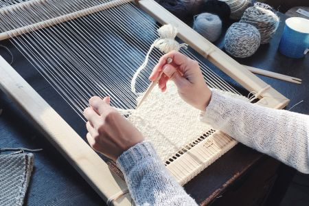 Large Loom Weaving : One-to-One Workshop