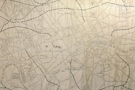 Make a Hand Embroidered Map of London