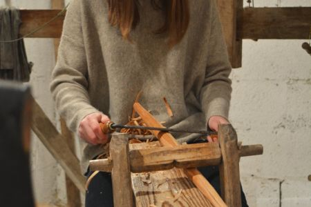 Create your own all-in-one workbench and vice in the 'Make a Shaving horse' class at Ben Willis Woodcraft in South London.