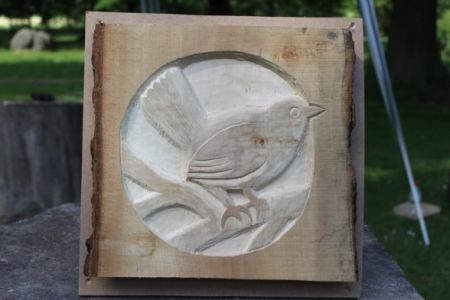 Relief Woodcarving