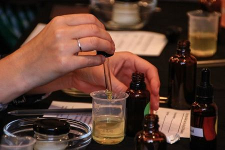 In this class you will make your very own customised hair oil, and take home a recipe to replicate it at home - Obby
