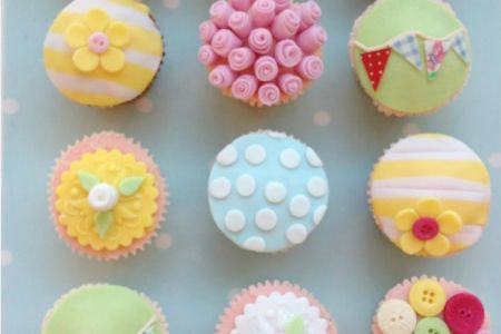 Shabby Chic Cupcakes Class London
