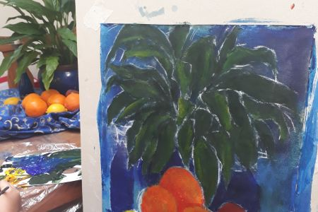Introductory Lino and Still life workshops at the Printing Framing workshop