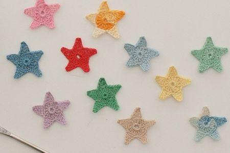 Beginners Crochet: Star Garland