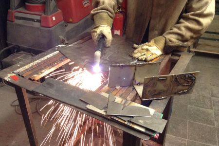 Introductory Welding Class for Artists