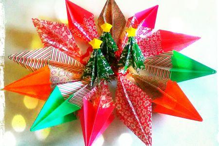 Xmas Origami Wonderland