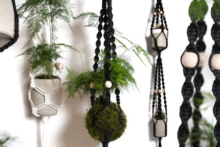 Make a Macramé Hanging Planter