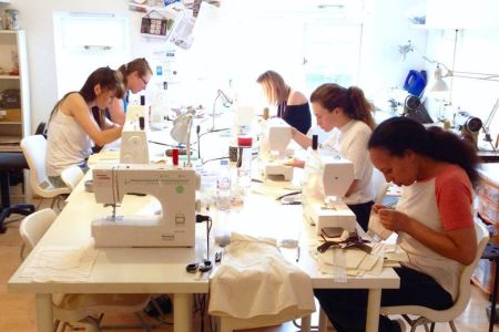 Learn how to sew garments in this professional workshop from Fashion Antidote