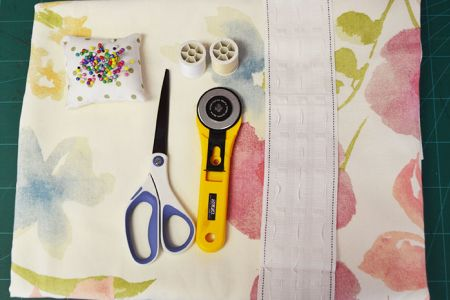 Leave the shops behind and make your own interior design choices with the 'Sew Your Own Curtains' Class at Luchi & Ota in Edgware, NW London