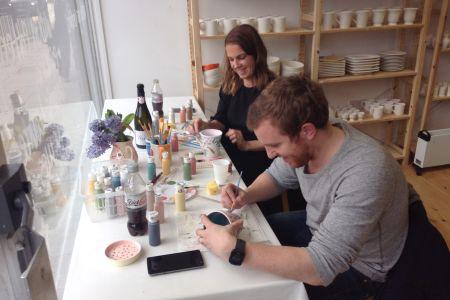 Social Pottery Painting @Holl Studios London
