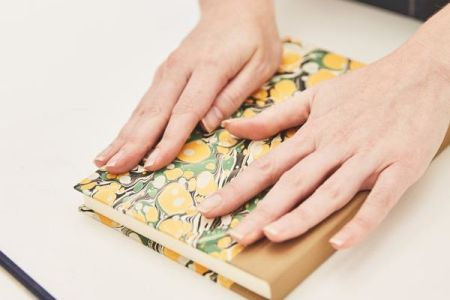 Bookbinding with Freya from Paperwilds