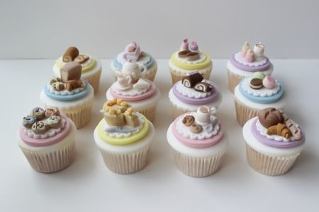 Afternoon Tea Cupcake Class - Obby
