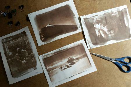 Van Dyke Brown Alternative Photography Printing Workshop