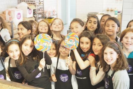 This candy making masterclass for kids in Shoreditch is designed to be educational as well as great fun!