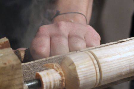 Take yourself back to basics with the Introduction to Woodturning class by Ben Willis Woodcraft in South London.