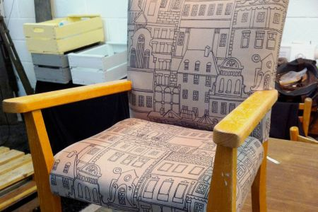 Upcycling Class: Reupholster Your Furniture