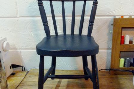 Learn how to paint your own furniture in this upcycling and painting class by The Old School Club in Battersea, London.