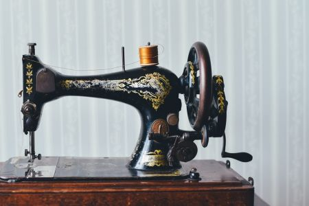 Introduction to using a sewing machine & upcycling with David. A. Mumford