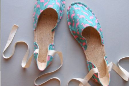 In this class you will make your own quirky, summery espadrilles with Suzie Kemner - Obby