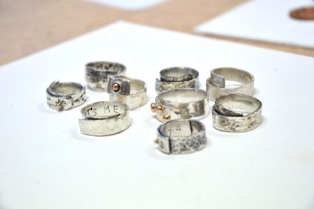 One Day Silver Wrap Ring Workshop