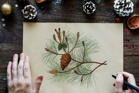 Mindfulness and Drawing with Mulled Wine - Covent Garden
