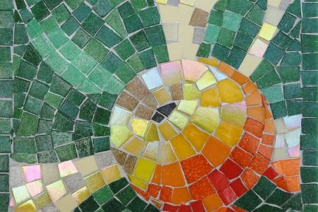 Learn the art of mosaics in this all-encompasing 2-day workshop