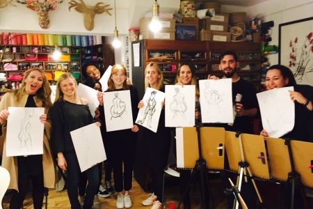 Life Drawing for Beginners (with BYOB!)