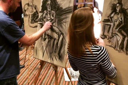 Drink and Draw - Life Drawing Class in Clerkenwell