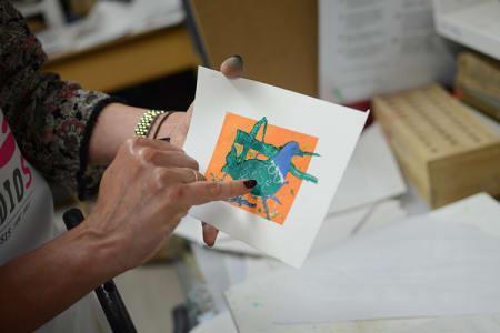 Adult Printmaking Studio