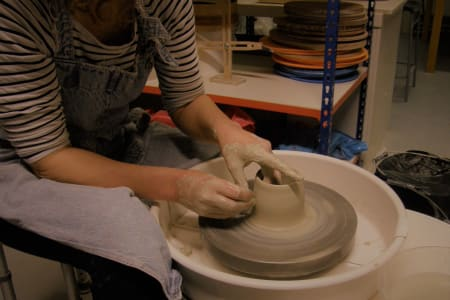 All Day Saturday Pottery Workshop for Beginners or Improvers